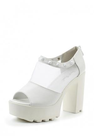 Ботильоны Sweet Shoes. Цвет: белый