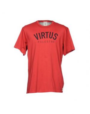 Футболка VIRTUS PALESTRE. Цвет: красный