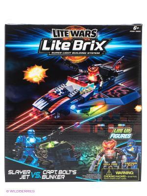 Конструктор Lite Вrix. Цвет: черный, синий