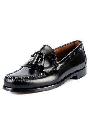 Туфли G.H. BASS. Цвет: черный