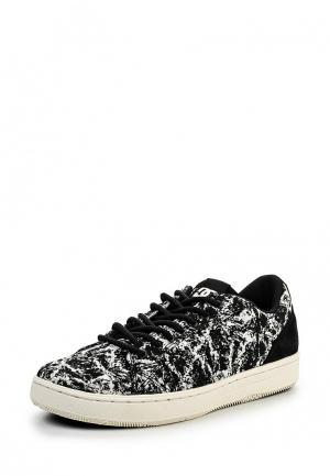 Кеды DC Shoes. Цвет: черно-белый