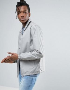 Selected Homme Спортивная куртка. Цвет: серый
