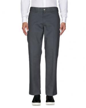 Повседневные брюки DICKIES. Цвет: свинцово-серый