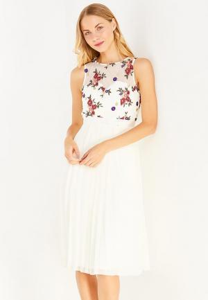 Платье Little Mistress. Цвет: белый