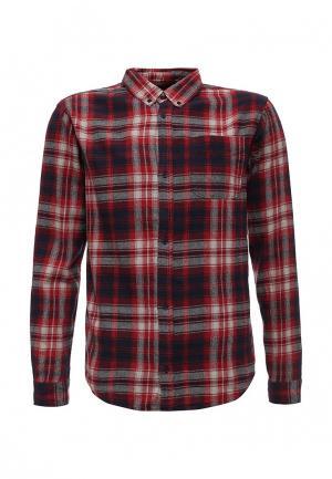 Рубашка d-Struct. Цвет: красный