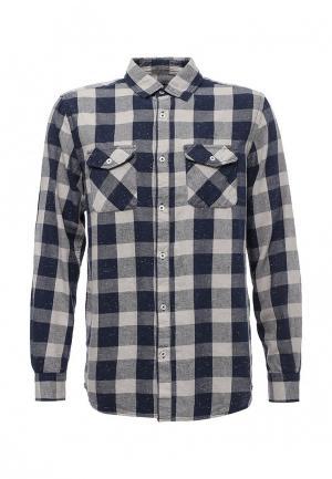 Рубашка Modis. Цвет: серый