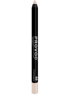 Гелевая подводка в карандаше для глаз PV0065 Gel Eye Liner 65 Champagne (цв.шампанского) Provoc. Цвет: кремовый