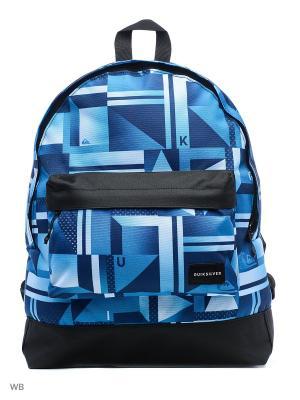 Рюкзак Quiksilver. Цвет: синий, голубой, черный