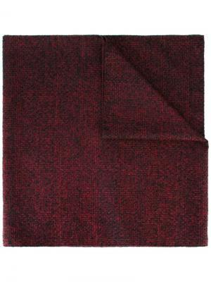 Вязаный шарф Drumohr. Цвет: красный