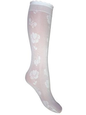 Гольфы, 2 пары Master Socks. Цвет: белый
