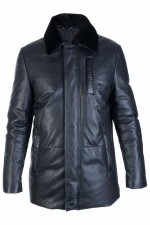Куртка ENZO. Цвет: черный