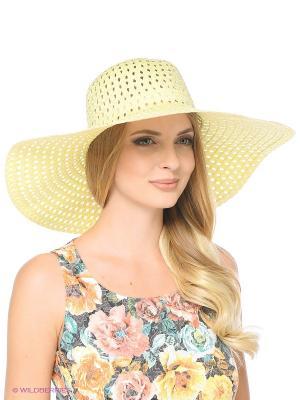 Шляпа Vittorio Richi. Цвет: желтый