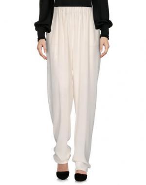 Повседневные брюки GOTHA. Цвет: белый