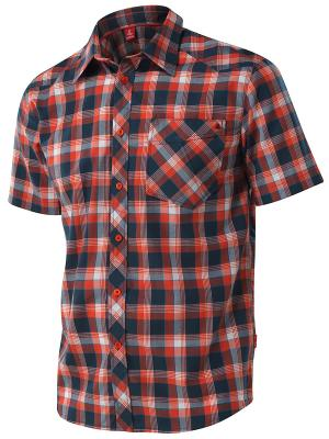 Рубашка Tencel Loeffler. Цвет: оранжевый
