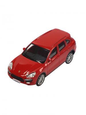 Машинка Porsche Cayenne Turbo, Красная (1:43) (PS-444012-R) Pit Stop. Цвет: красный