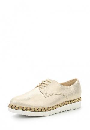 Ботинки Clowse. Цвет: золотой