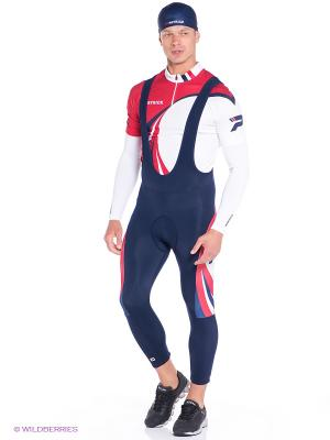 Велоштаны 3/4 CYCLING BIB PANT FOR MAN WITH DYNAMIC SHAMMY Patrick. Цвет: синий