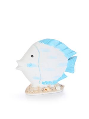 Статуэтка Рыбка DAVANA. Цвет: бирюзовый, белый