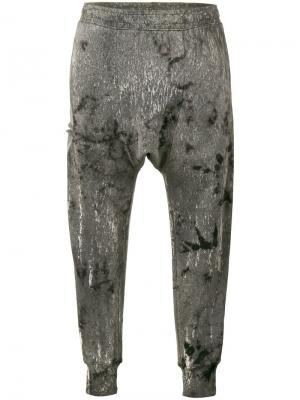 Укороченные спортивные штаны Ferrum Drifter. Цвет: чёрный