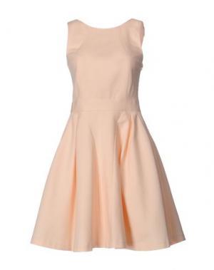 Короткое платье TARA JARMON. Цвет: светло-розовый