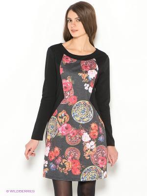 Платье Ada Gatti. Цвет: черный