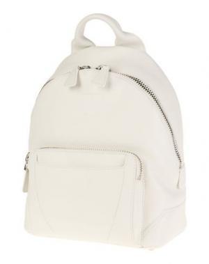 Рюкзаки и сумки на пояс SANTONI. Цвет: белый