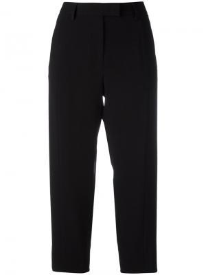 Укороченные брюки с карманами Alberto Biani. Цвет: чёрный