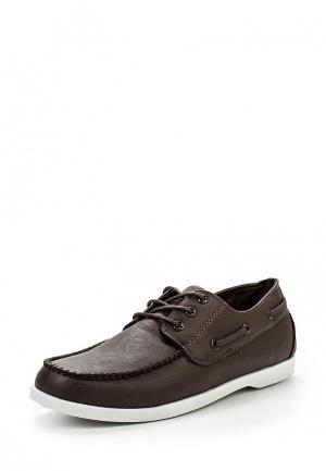 Топсайдеры WS Shoes. Цвет: коричневый