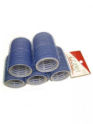 Набор Бигуди 40 мм (5 шт.) Scarlet Line. Цвет: синий