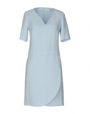 Короткое платье AXARA PARIS. Цвет: небесно-голубой