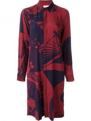 Платье 161 Dynasty A.F.Vandevorst. Цвет: красный