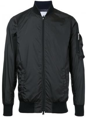 Куртка-бомбер Yoshio Kubo. Цвет: чёрный