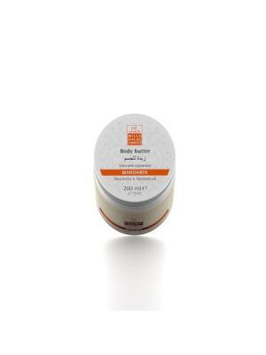 Масло для тела Мандарин с маслами мандарина и ши карите MILLA HALAL COSMETICS. Цвет: белый