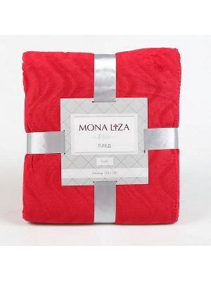 Плед Kleo 150*200 Mona Lisa Elite бордо 18-1761 Liza. Цвет: красный