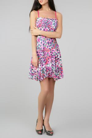 Платье Exilia. Цвет: розовый