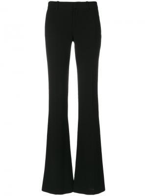 Расклешенные брюки слим Givenchy. Цвет: чёрный
