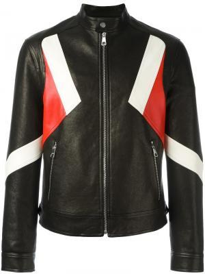 Куртка с воротником-стойка Neil Barrett. Цвет: чёрный