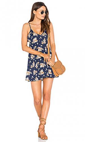 Платье mila De Lacy. Цвет: синий