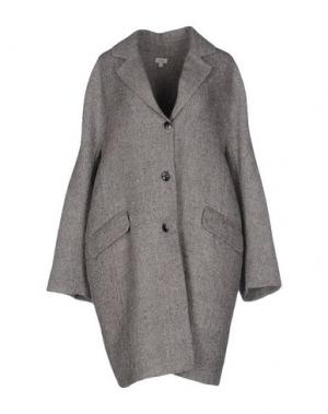 Пальто INTROPIA. Цвет: серый
