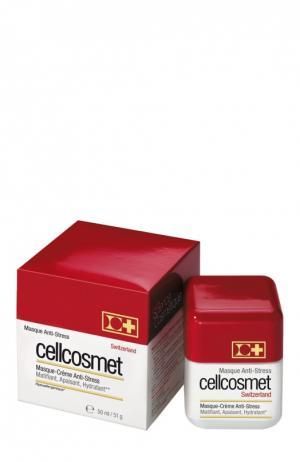 Крем-маска анти-стресс Cellcosmet&Cellmen. Цвет: бесцветный