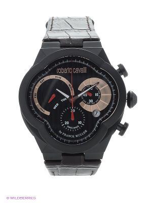 Часы ROBERTO CAVALLI by FRANCK MULLER. Цвет: темно-коричневый
