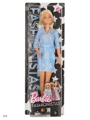 Куклы из серии Игра с модой в ассортименте Barbie. Цвет: морская волна, голубой