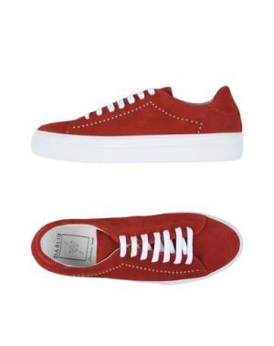 Низкие кеды и кроссовки W DABLIU. Цвет: красный