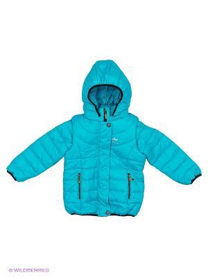 Куртка Goldy. Цвет: голубой