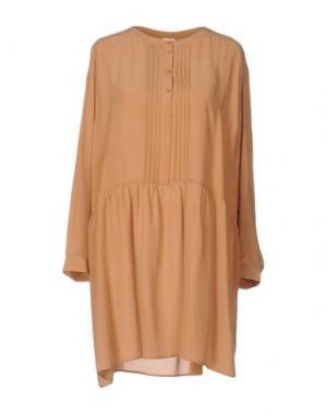 Блузка DES PETITS HAUTS. Цвет: верблюжий