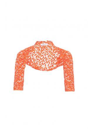 Кружевное болеро 162235 Blumarine. Цвет: оранжевый