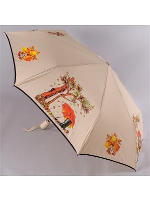 Зонт Airton. Цвет: светло-коричневый