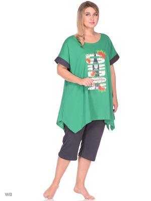 Пижама ИП Кузнецов Д.В.. Цвет: зеленый, темно-серый