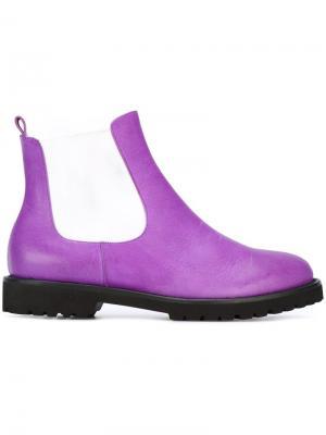 Ботинки Челси Chalayan. Цвет: розовый и фиолетовый
