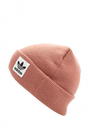Шапка adidas Originals. Цвет: розовый